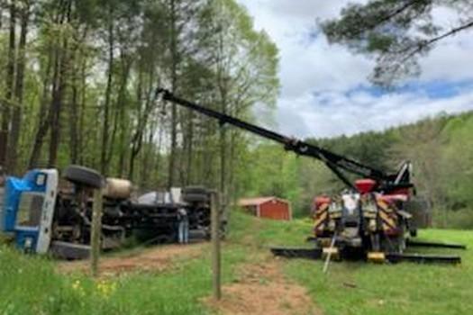 Construction Equipment Transport-in-Ennice-North Carolina